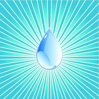 a water droplet icon