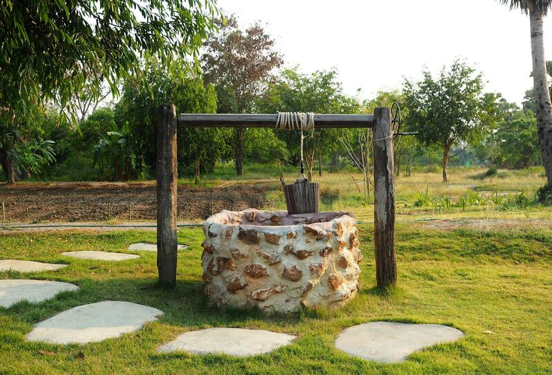 water well in the farm